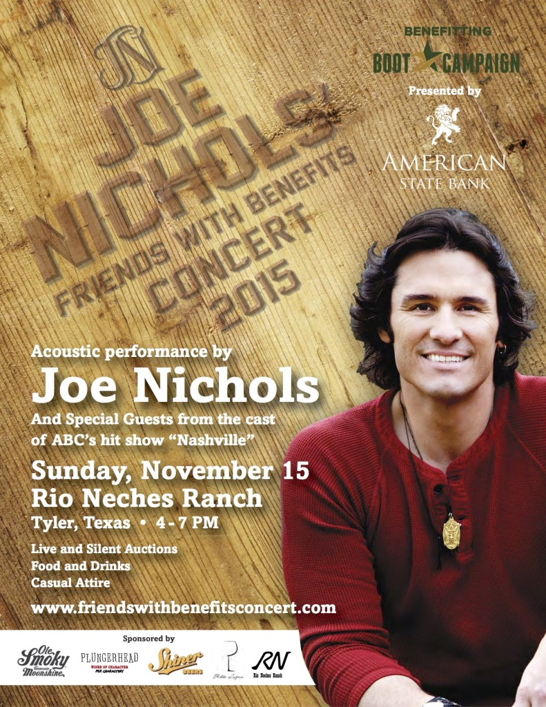 Joe Nichols Flyer Package 15