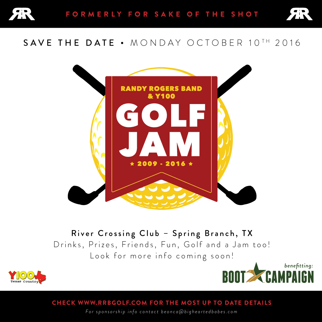 RRB Golf Jam 2016 - Save The Date