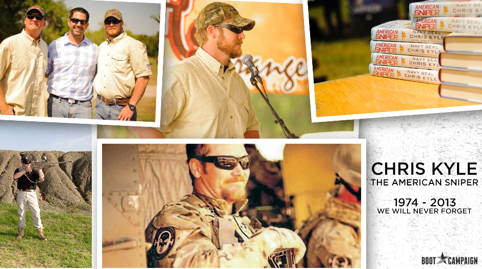 Chris Kyle… A Legacy of Service That Continues to Give Back - Boot