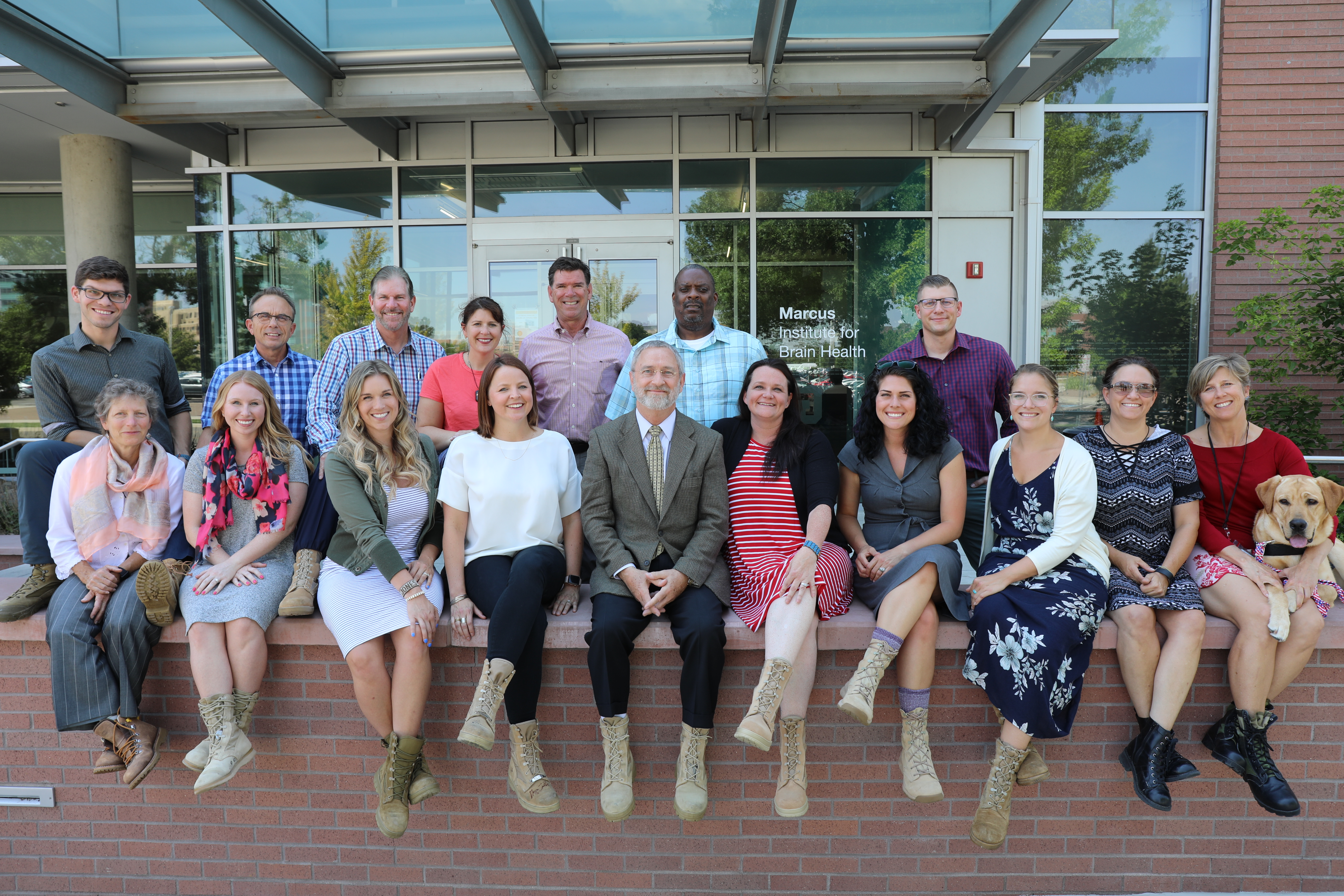 Marcus Institute for Brain Health - traumatic brain injury research and treatment experts boot shoot