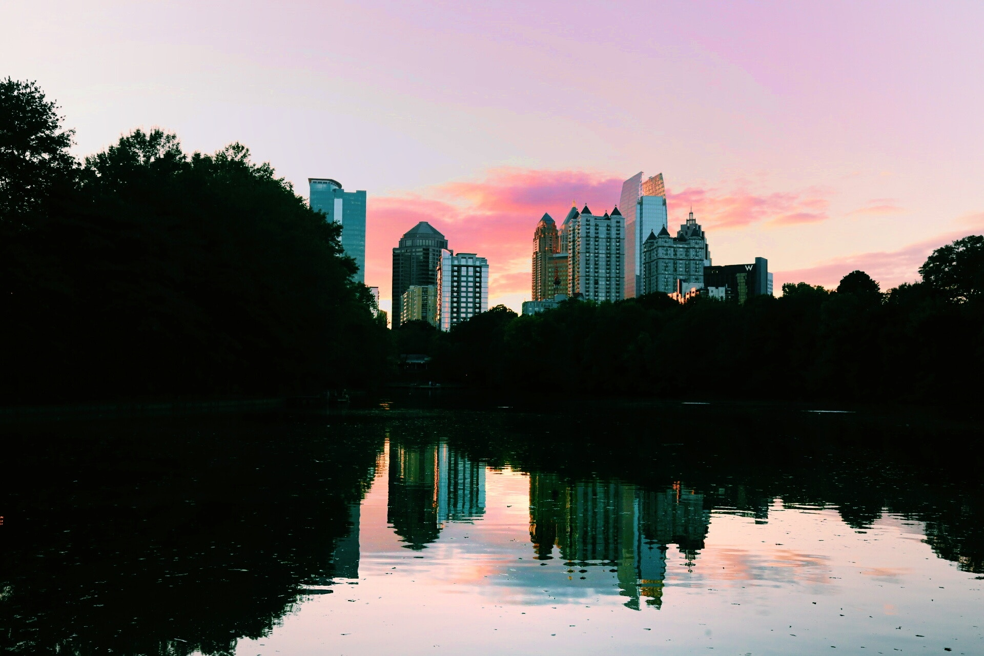 Photo: Atlanta skyline